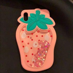 iPhone XS Max liquid case 🍓